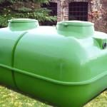 fosse toutes eaux de 5000L en amont du filtre zéolite